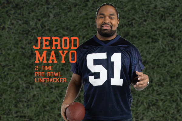 Project image for BMC HealthNet x Jerod Mayo