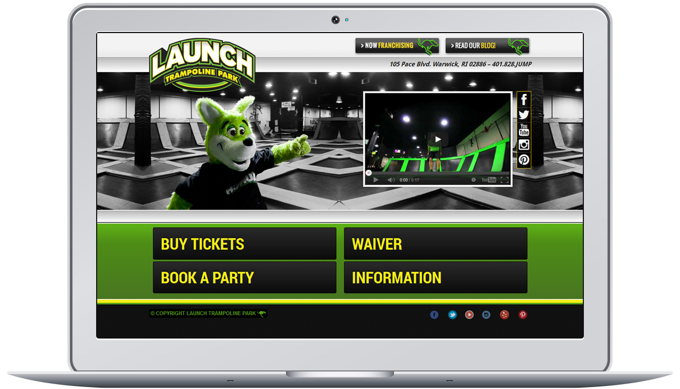 Launch Trampoline Park Project Image for Launch Trampoline Park